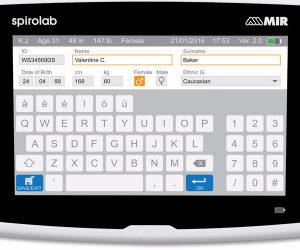 New – MIR Spirolab 4 Desktop Spirometer